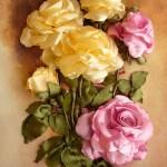 آموزش ساخت گل های زیبا با روبان