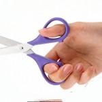 روش های تیز کردن قیچی در منزل