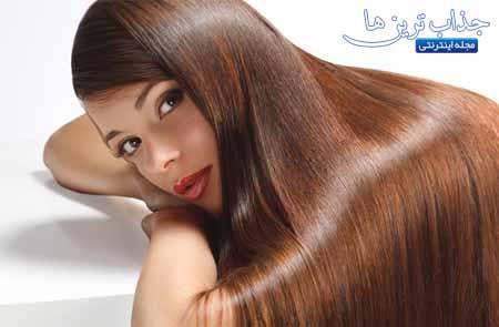 نرم کننده خانگی برای موهای فر