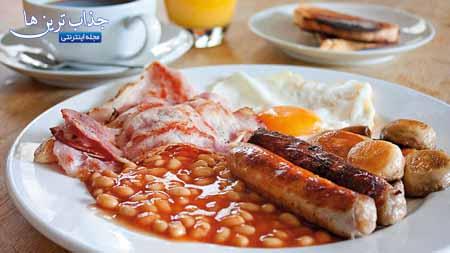 آموزش تهیه صبحانه انگلیسی