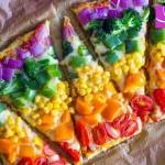 آموزش تهیه پیتزا سبزیجات رژیمی