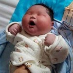 یک زن چینی نوزادی ۷ کیلویی بدنیا آورد