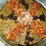 تهیه آش سبزی شیرازی افطار