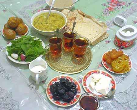 غذاهای مناسب برای وعده سحری