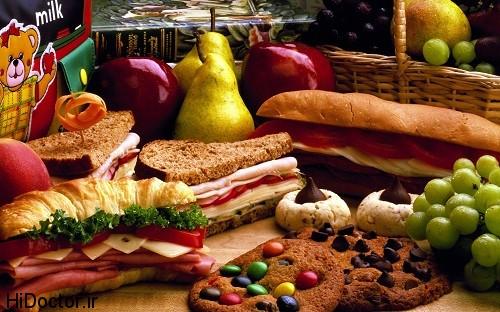 خوراکی مناسب فصل گرما