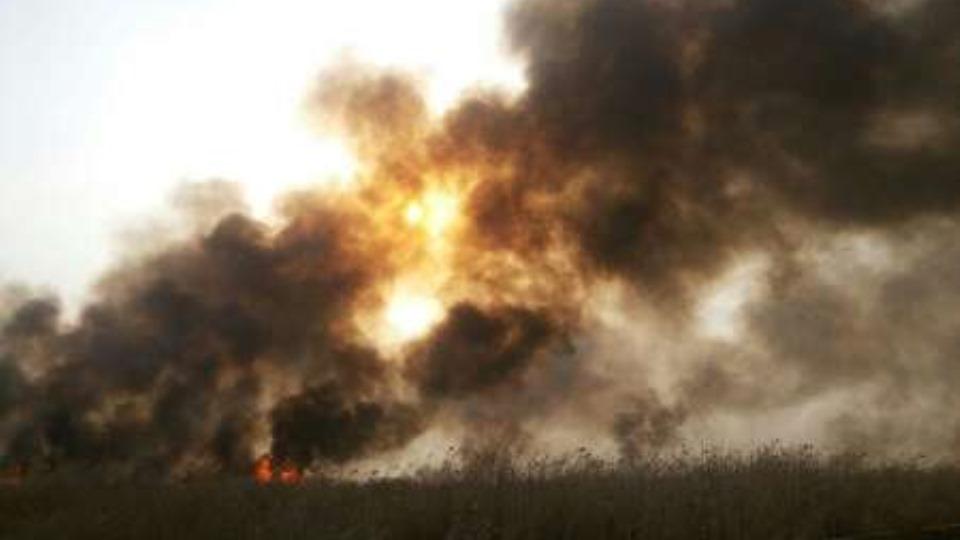 80 روز اهواز در دود آتش هورالعظیم