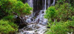 آبشار شوی طبیعت زیبای دزفول