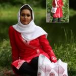 مدل های مانتو و شال ایرانی